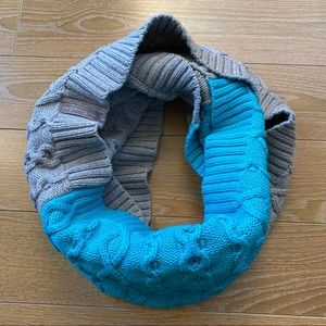 Ivivva Two Tone Chunky Knit Infinity Scarf
